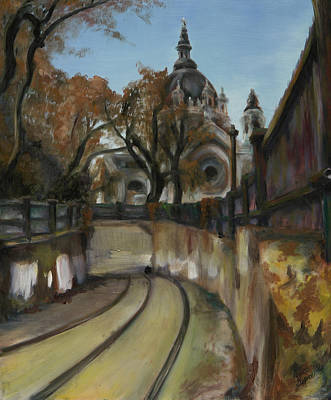 Streetcar Painting - Selby Tunnel by Grace Hasbargen
