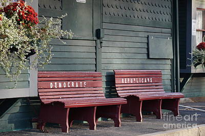 Selective Seating Print by Zori Minkova
