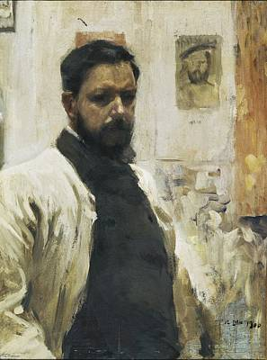 Self Portrait Photograph - Self-portrait. 1900 by Everett