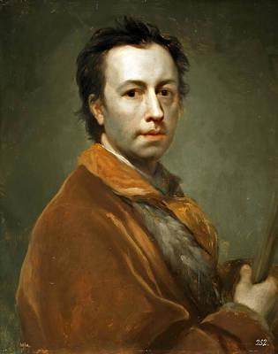 Anton Raphael Mengs Painting - Self-portrait by Anton Raphael Mengs