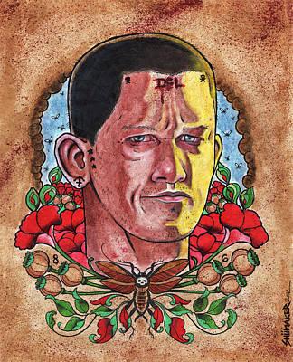 Self Portrait Print by David Shumate