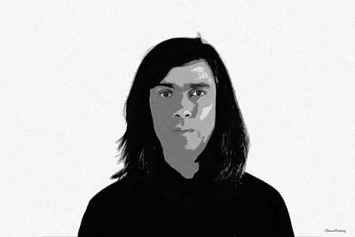 Self Portrait Print by Ramon Martinez