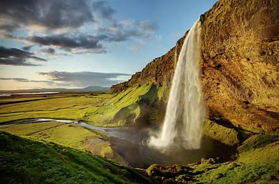 Seljalandsfoss Iceland Print by Peter OReilly