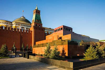Senate Tower And Lenin's Mausoleum Print by Alexander Senin