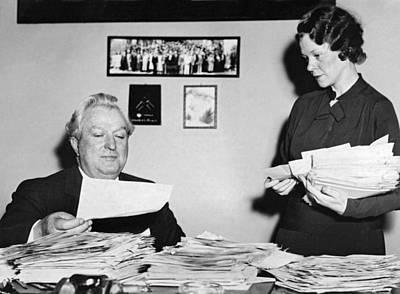 Senator Pat Mccarran Print by Underwood Archives