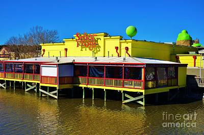Senor Frogs Myrtle Beach Water Front View Print by Bob Sample