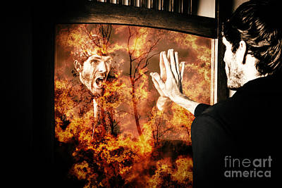 Senses Fail The Lost Touch Of Humanity Print by Jorgo Photography - Wall Art Gallery