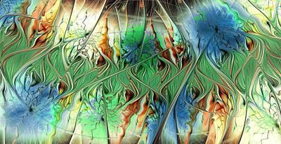 Ambiguity Digital Art - Sensory Threshold by Anastasiya Malakhova