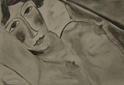 Sensual Woman Original by Daniele Fedi