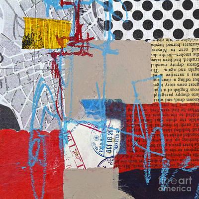 Avant Garde Mixed Media - Sentimental Journey by Elena Nosyreva