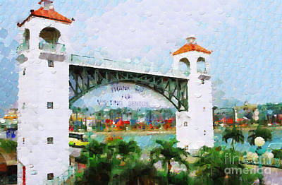 Local Attraction Painting - Sentosa Gateway Painting by George Fedin and Magomed Magomedagaev