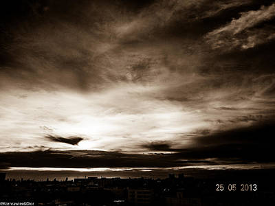 Photograph - Sepia Light by Kornrawiee Miu Miu