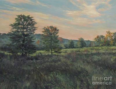 September Meadow Print by Gregory Arnett