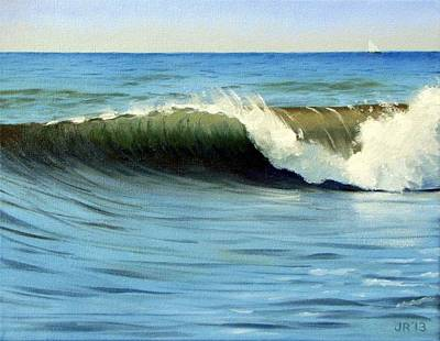 Robertson Painting - September Wave by James Robertson