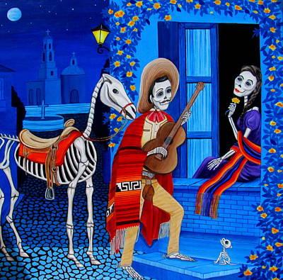 Painting - Serenata by Evangelina Portillo