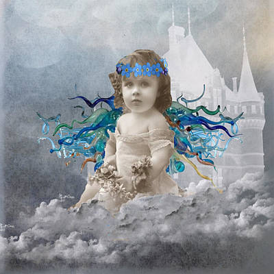 Serene Angel Original by Paige White