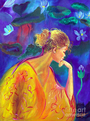 Tolan Painting - Serene Reflection by To-Tam Gerwe
