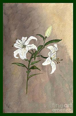 Serenity Print by Ella Kaye Dickey