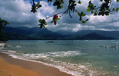 Hanalei Photograph - Serenity On The Beach by Kathy Yates