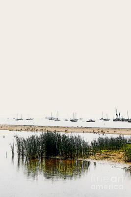 Serenity  - Santa Barbara Print by Linda  Parker