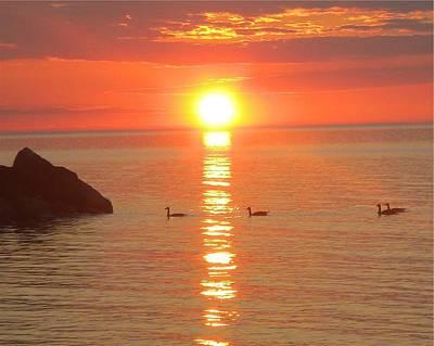 Serenity - Award Winning Sunset Original by James  Scott Preston