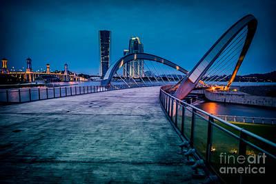 Malaysia Digital Art - Seri Gemilang Bridge 1 by Adrian Evans