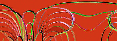 Ben Gertsberg Digital Art - Serpentine by Ben and Raisa Gertsberg
