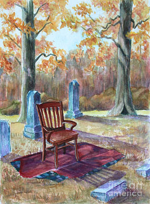 Painting - Settling Place by Janet Felts