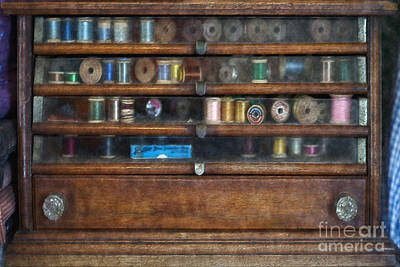 Photograph - Sewing Thread by Liane Wright