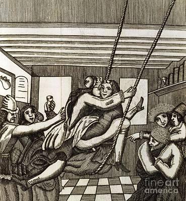 Sex Swing, 17th Century Artwork Print by British Library