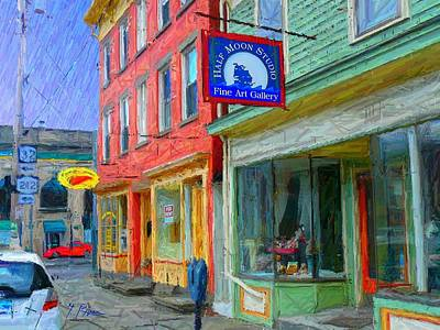 Saugerties Digital Art - Sg - 294 by Glen River