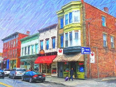 Saugerties Digital Art - Sg - 417 by Glen River