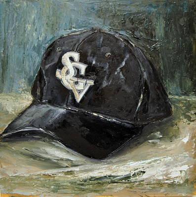 Baseball Art Painting - Sgv Baseball by Lindsay Frost