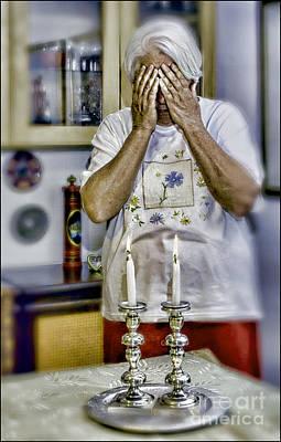 Kiddush Photograph - Shabbat Prayer by Elena Comens