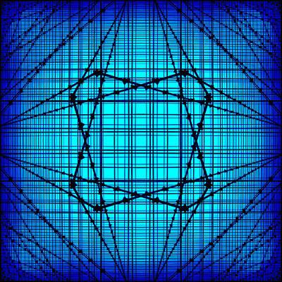 Wire Digital Art - Shades 14 by Mike McGlothlen