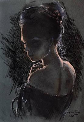 Shades Of Light Print by Dorina  Costras