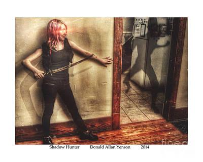 Spirt Digital Art - Shadow Hunter by Donald Yenson