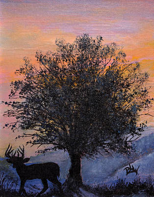 Shadow Of Courage Print by Barbara Willms