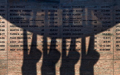 Shadow Of The Fishermens Memorial Print by Panoramic Images