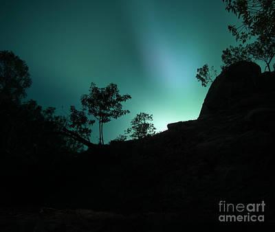 Night Digital Art - Shadowlands 10 by Bedros Awak
