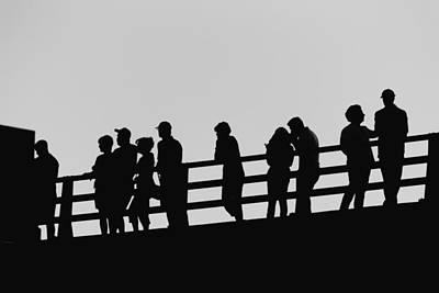 Photograph - Shadows by Tony Boyajian