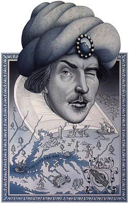 Shakespeare In Maryland Original by John D Benson