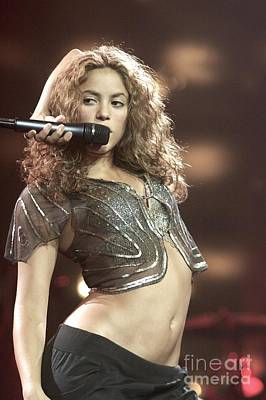 Shakira Photograph - Shakira by Front Row  Photographs