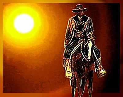 Jack Palance Painting - Shane by Hartmut Jager