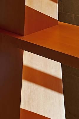 Shapes And Shadows Print by Ernie Echols
