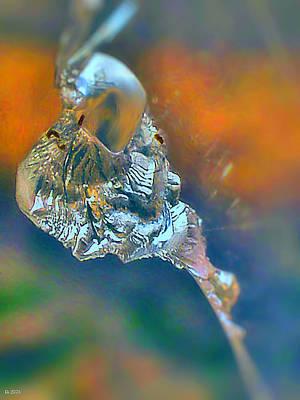 Shards Painting - Shard Close Up by Daniel Janda