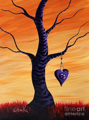 Zebra Painting - Sharing My Imagination By Shawna Erback by Shawna Erback