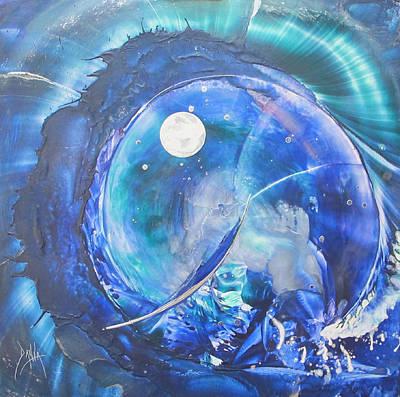 Shark Bay Curl Print by Danita Cole