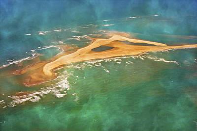 Reef Shark Photograph - Shark Island Nc by Betsy Knapp