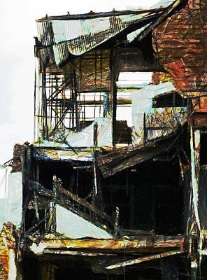 Aftershock Digital Art - Shattered by Steve Taylor